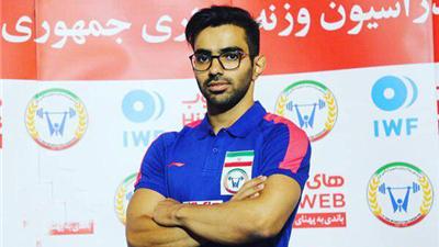 قشقایی مدال نقره وزنه برداری جهان را کسب کرد