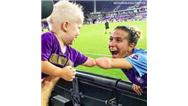 تصویری از فوتبالیست زن که دنیا را تحت تاثیر قرار داد