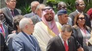 چپ چپ نگاه کردن سفیر عربستان به ظریف! + تصویر