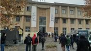 حواشی دیدار رئیسی از دانشگاه تهران/ از شعارهای احساسی دانشجویان تا حضور راننده پیک موتوری